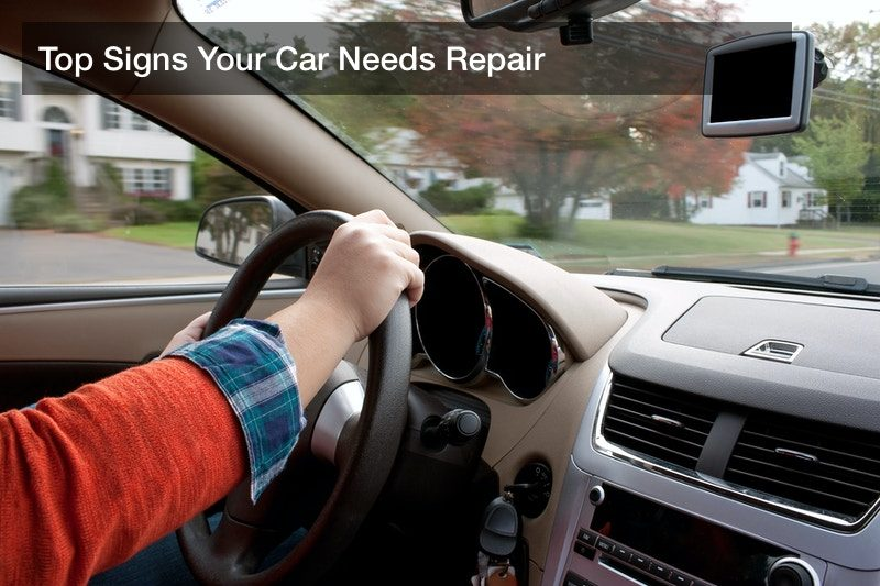 Top Signs Your Car Needs Repair